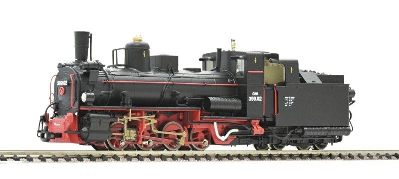Dampflokomotive 399.02 der ÖBB, Sound, Spur H0e