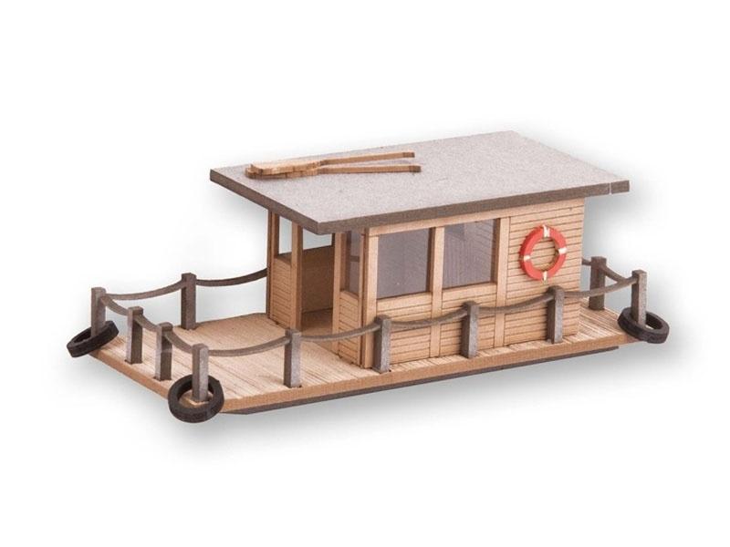 Hausboot Laser-Cut minis Spur N
