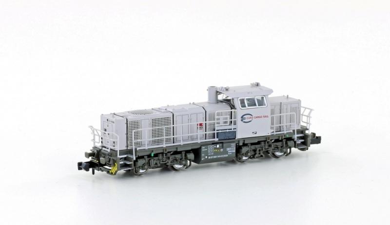 Diesellok Vossloh G1000 BB der ECR, Ep.V, Spur N