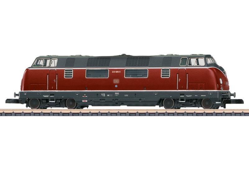 Diesellokomotive Baureihe 220 der DB, Spur Z