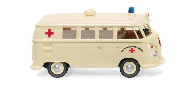 VW T1 Bus, DRK, 1:87, H0