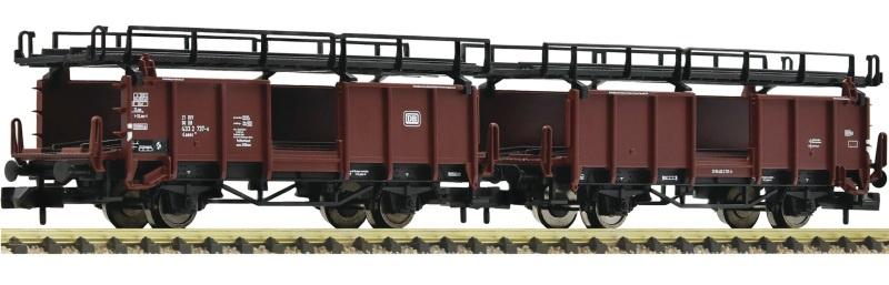 Doppelstockwagen für Autotransport in Güterzügen, DB, Spur N