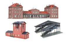 Bahnhöfe und Bahnbauten