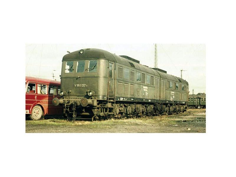 Doppel-Diesellokomotive V 188 001 a/b DB Sound mfx Spur 1