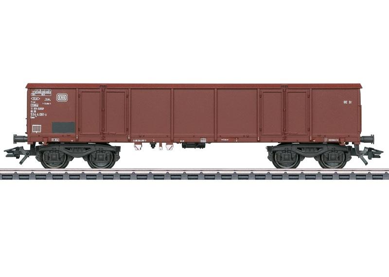 Offener Hochbordwagen Eaos 106 der DB, AC, Spur H0