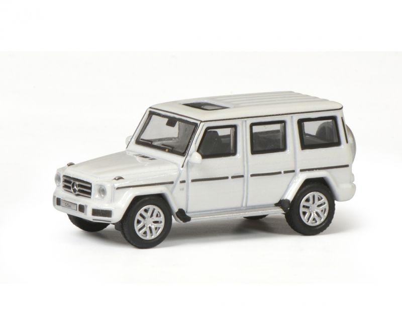 Mercedes-Benz G-Modell, diamantweiß, 1:87 / Spur H0