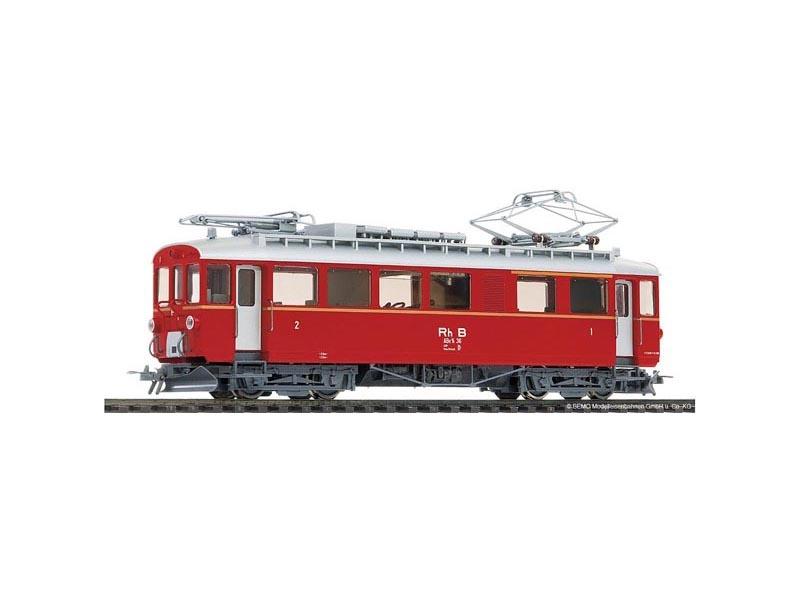 ABe 4/4 36 Berninatriebwagen rot der RhB, Spur H0m