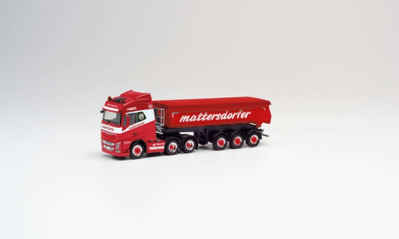 Volvo FH Gl. Thermomulden-Sattelzug Mattersdorfer, 1:87 H0