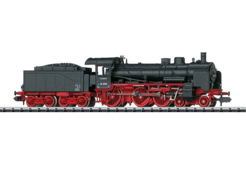 Dampflokomotive mit Schlepptender DB Spur N