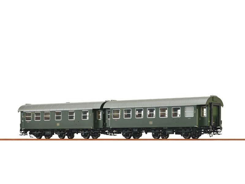 2er-Set Personenwagen AB3yge/B3yge der DB, III, Spur H0