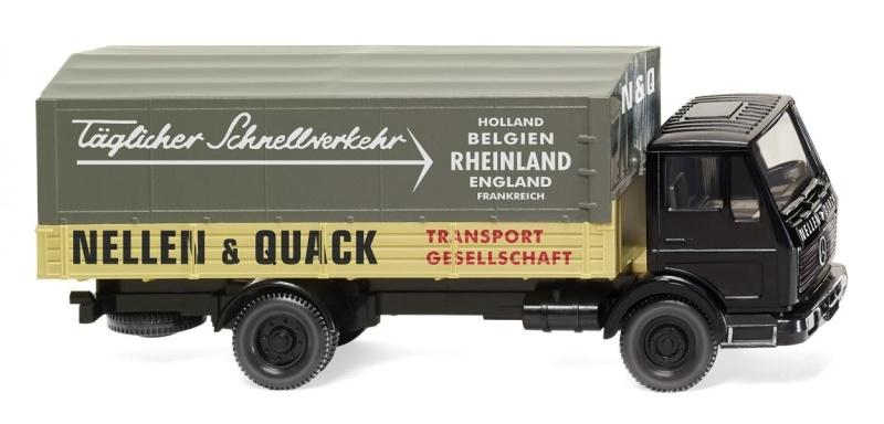 Pritschen-Lkw (MB NG) Nellen & Quack, 1:87, Spur H0