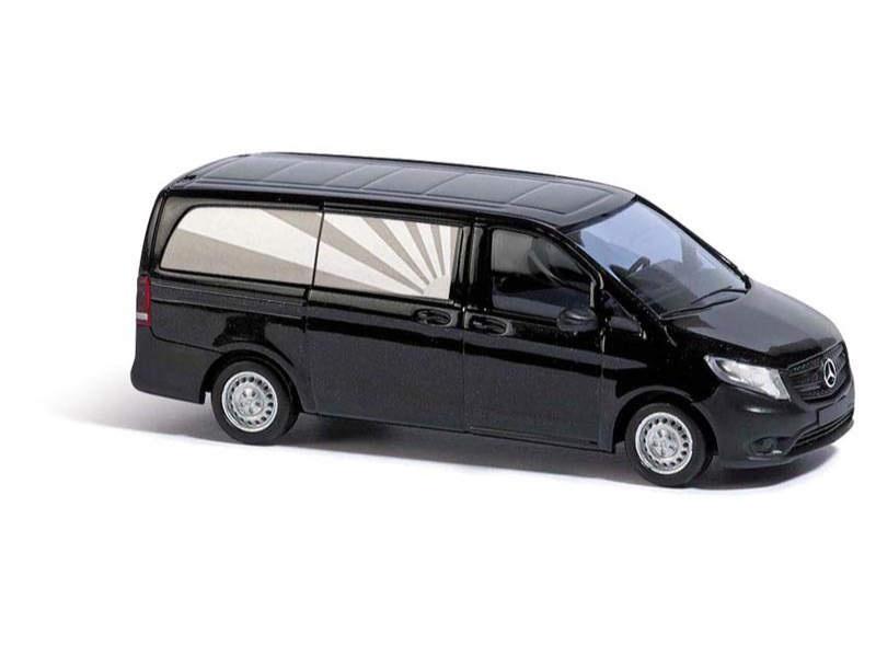 Mercedes-Benz Bestattungsfahrzeug, Schwarz, Spur H0