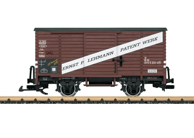 Museumswagen 2018, Gedeckter Güterwagen, Spur G