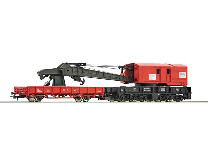 Kranwagen mit Schutzwagen DB AG H0