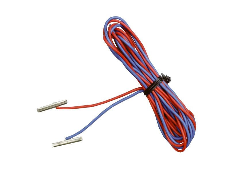 Schienenverbinder + Anschlußkabel, 1 Paar, A-Gleis, H0