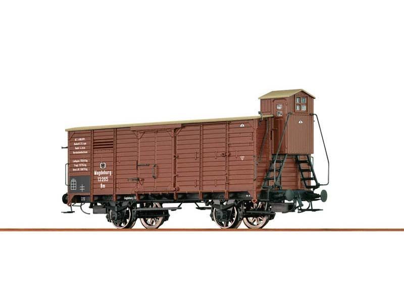 Gedeckter Güterwagen NM G10 der KPEV, I, H0