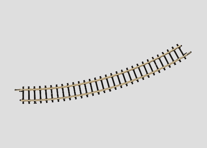 Gebogenes Gleis Radius 220 mm 30° Spur Z