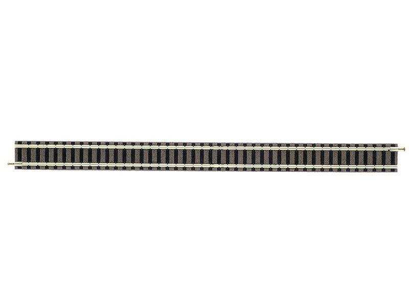 Gerades Gleis 222 mm N-Gleis mit Bettung