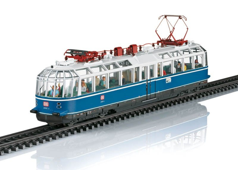 Aussichtstriebwagen Gläserner Zug BR 491 DB H0