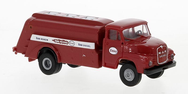 MAN 635 Tankwagen, rot, Esso, 1955, 1:87 / H0