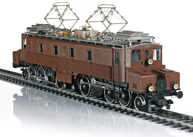 Elektrolokomotive Serie Ce 6/8 I Köfferli der SBB, Spur 1