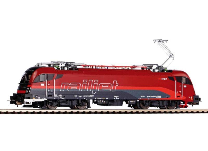 E-Lok Rh E.190 Railjet, Epoche VI, Spur H0