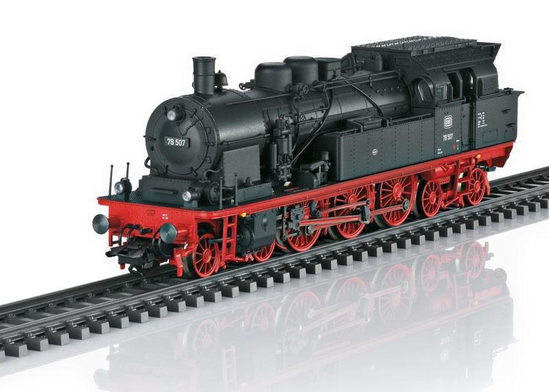 Dampflokomotive BR 78 der DB, Sound, mfx, DCC, DC, Spur H0