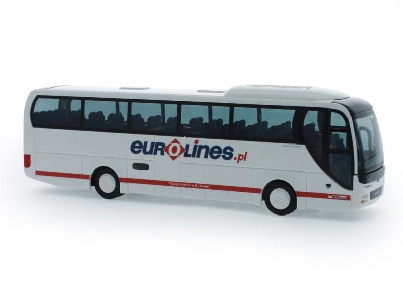 MAN Lion´s Coach ´15 Eurolines (PL), 1:87 / H0