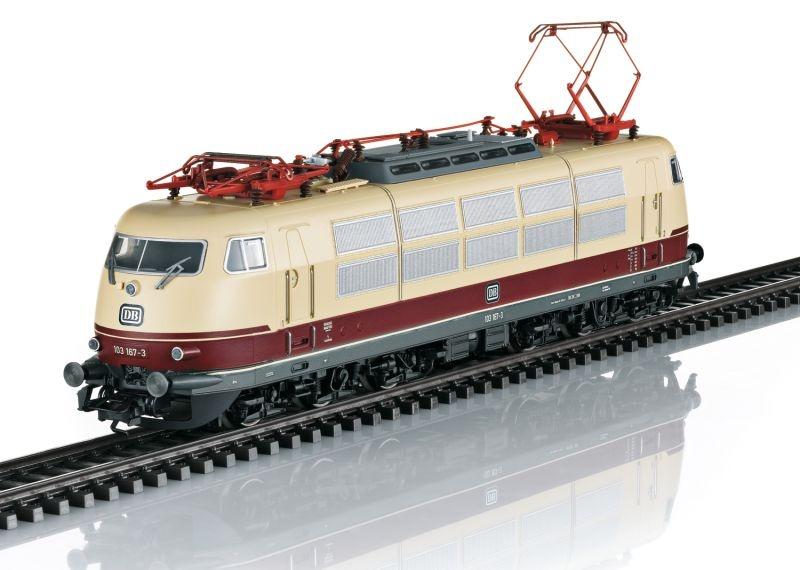 Elektrolokomotive Baureihe 103.1 der DB, Sound, DC, Spur H0
