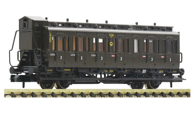 Abteilwagen 3. Klasse der DRG, Spur N