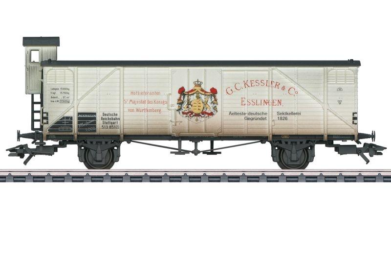 Güterwagen Kessler Sekt der DRG, AC, Spur H0