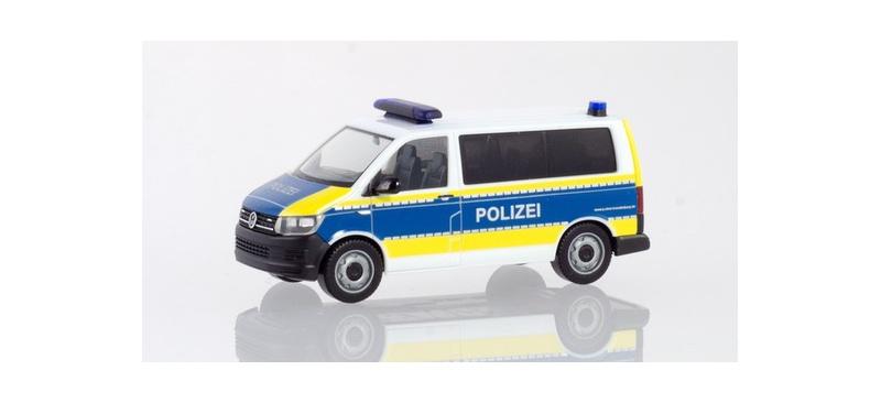 VW T6 Bus Polizei Brandenburg 1:87 / H0