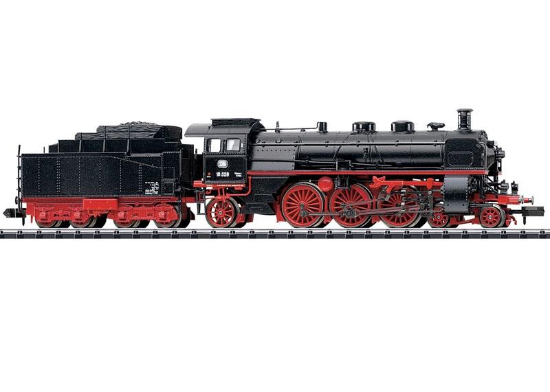 Schnellzug-Dampflok BR 18.4, Sound, mfx DCC, Minitrix Spur N