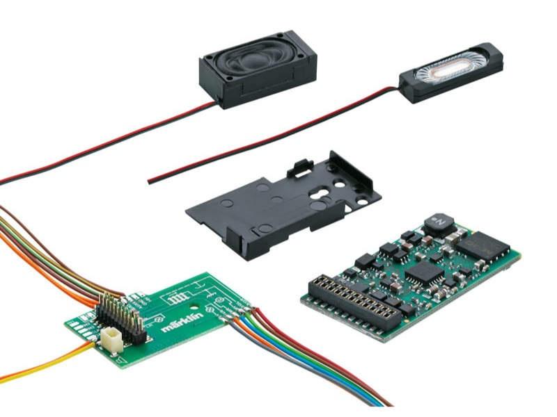 SoundDecoder mSD3 21-polig mit Diesellok Sound H0