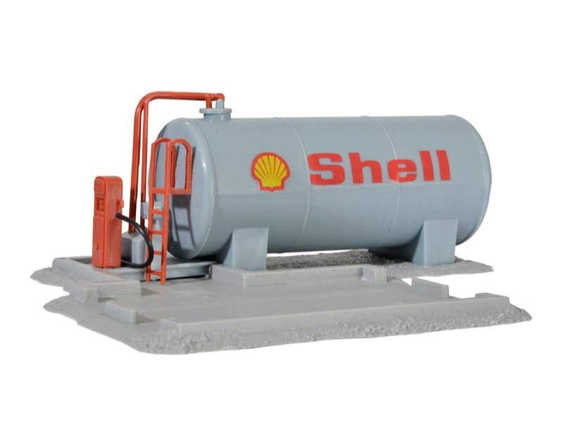 Dieseltankstelle, Bausatz, Spur H0