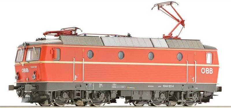 Elektrolokomotive Rh 1044 der ÖBB, DCC, DC, Spur H0