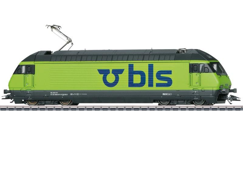 Elektrolokomotive Re 465 der BLS, mfx+, Sound, AC, Spur H0