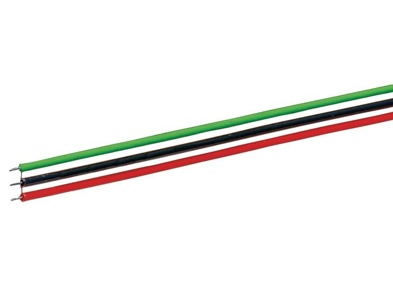 3-poliges Flachbandkabel 10m