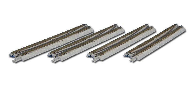Gleis gerade, 110 mm, mit Anschlussblende, Spur Z