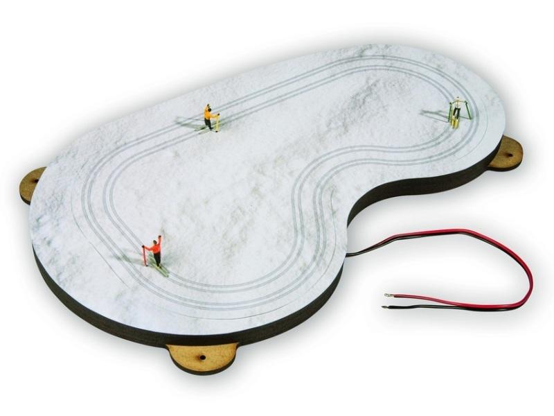micro-motion Langlauf-Loipe mit Après-Ski Hütte, Spur H0
