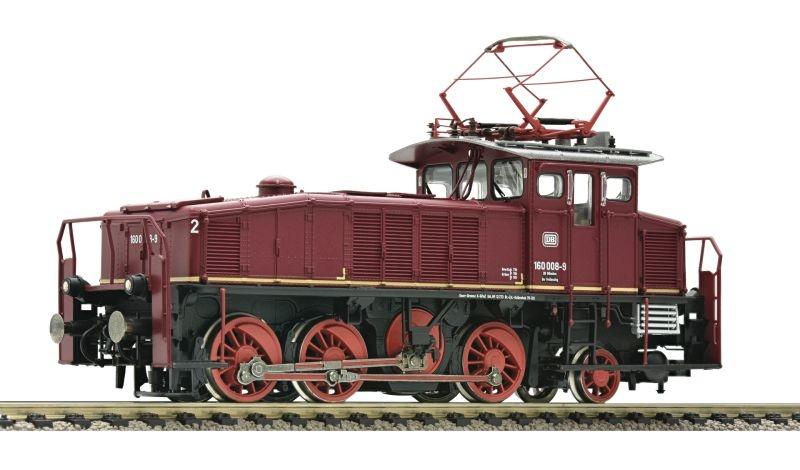 Elektro Verschublok BR 160 rot der DB, DC, Spur H0