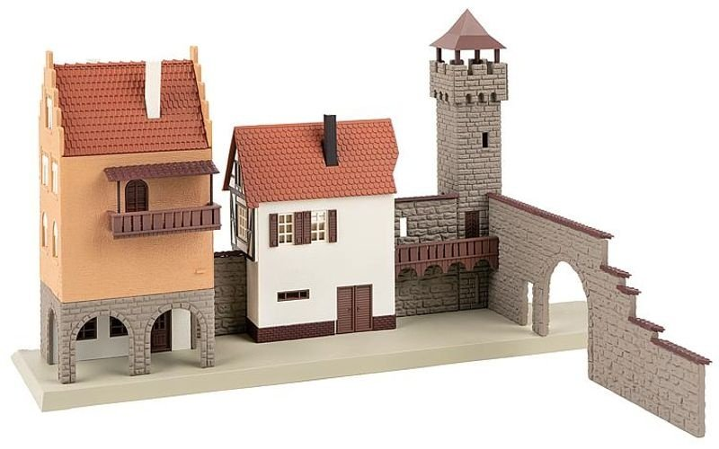 B-923 Stadtmauer, Bausatz, Spur H0