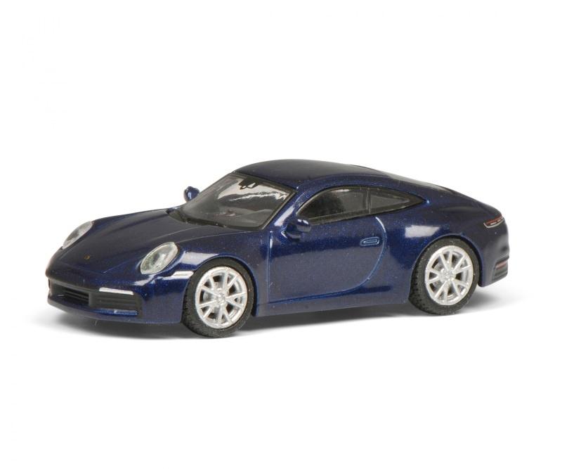 Porsche 911, blau-metallic 1:87 / Spur H0