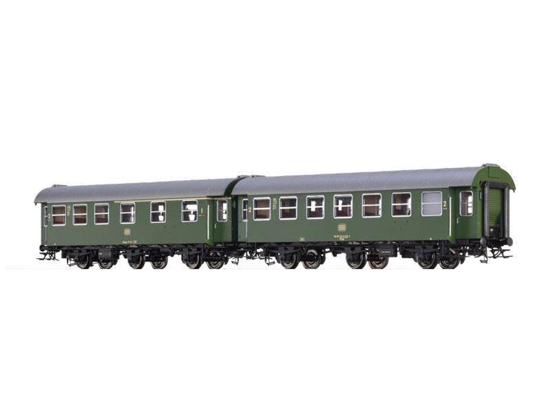 2er-Set Personenwagen AB3yge/B3yge der DB, IV, Spur H0
