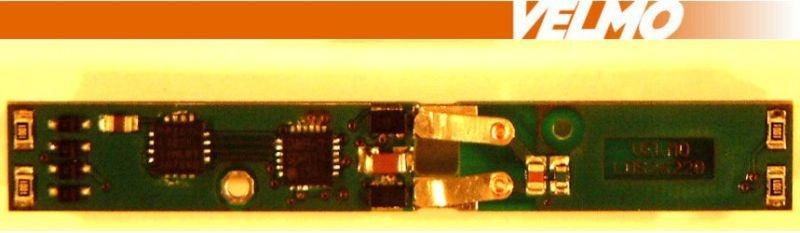 Lokdecoder DCC / SX passend für BR103, BR151, Ae6/6, Spur Z