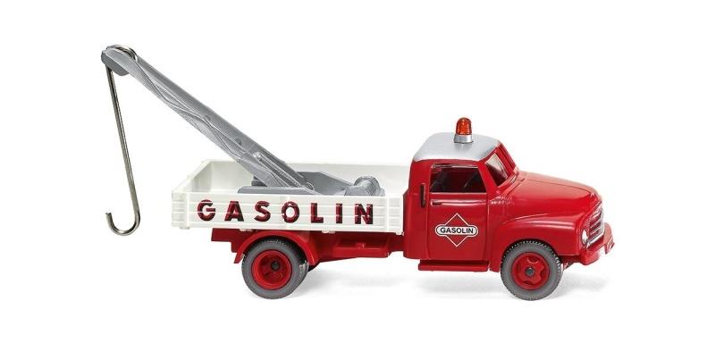 Abschleppwagen (Opel Blitz) Gasolin, 1:87 / Spur H0