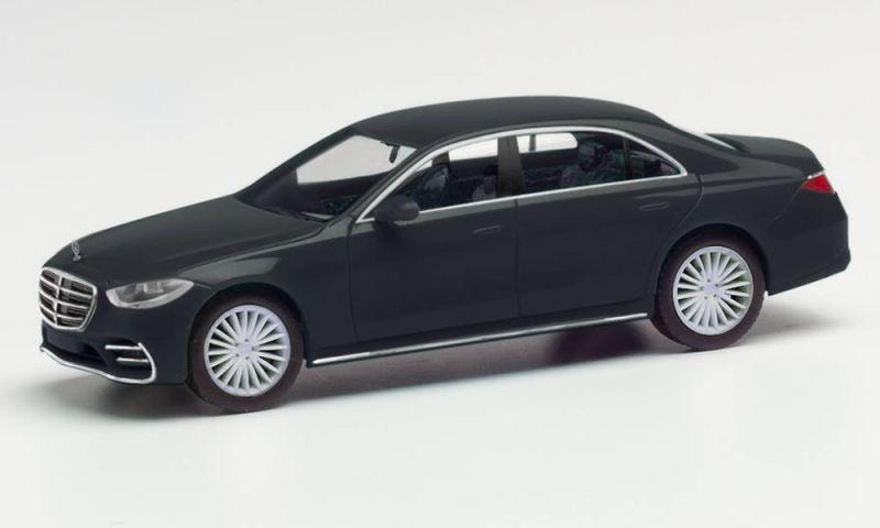 Mercedes-Benz S-Klasse, schwarz, Spur H0, 1:87