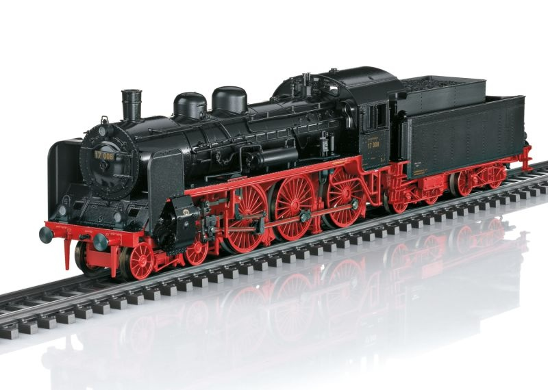 Dampflokomotive Baureihe 17 der DRG, Sound, DC, Spur H0