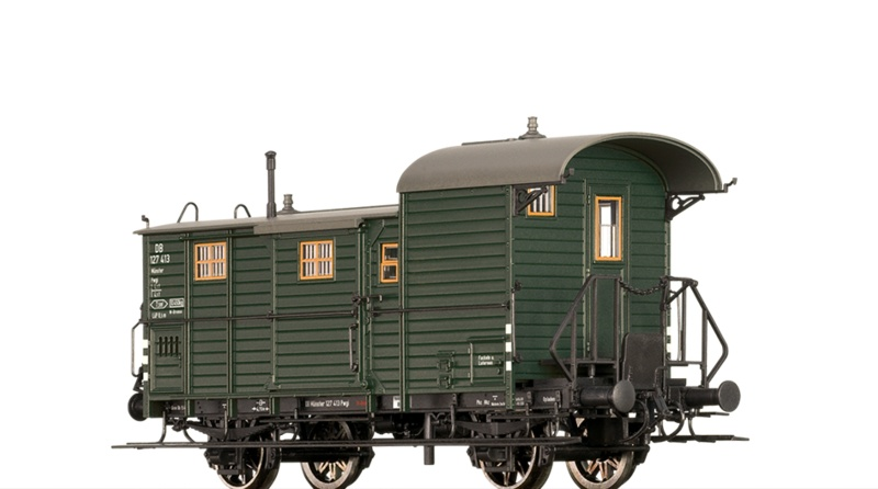 Güterzuggepäckwagen Pwgi der DB, DC, Spur H0
