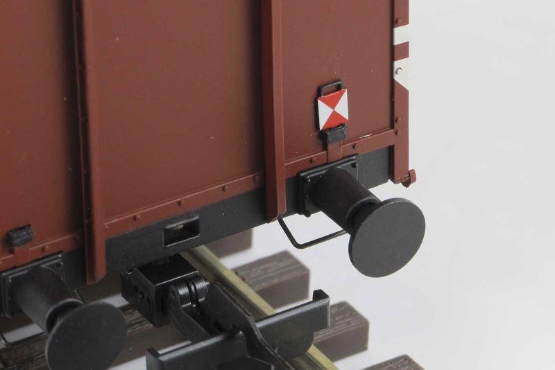 Zugschlussscheiben  für Güterwagen der DB, 10 Stück, Spur 0